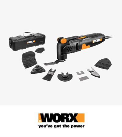 Worx 250W Sonicrafter Multi-tool
